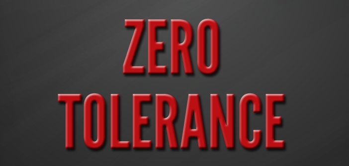 Zero Tolerance by Simon Jenner