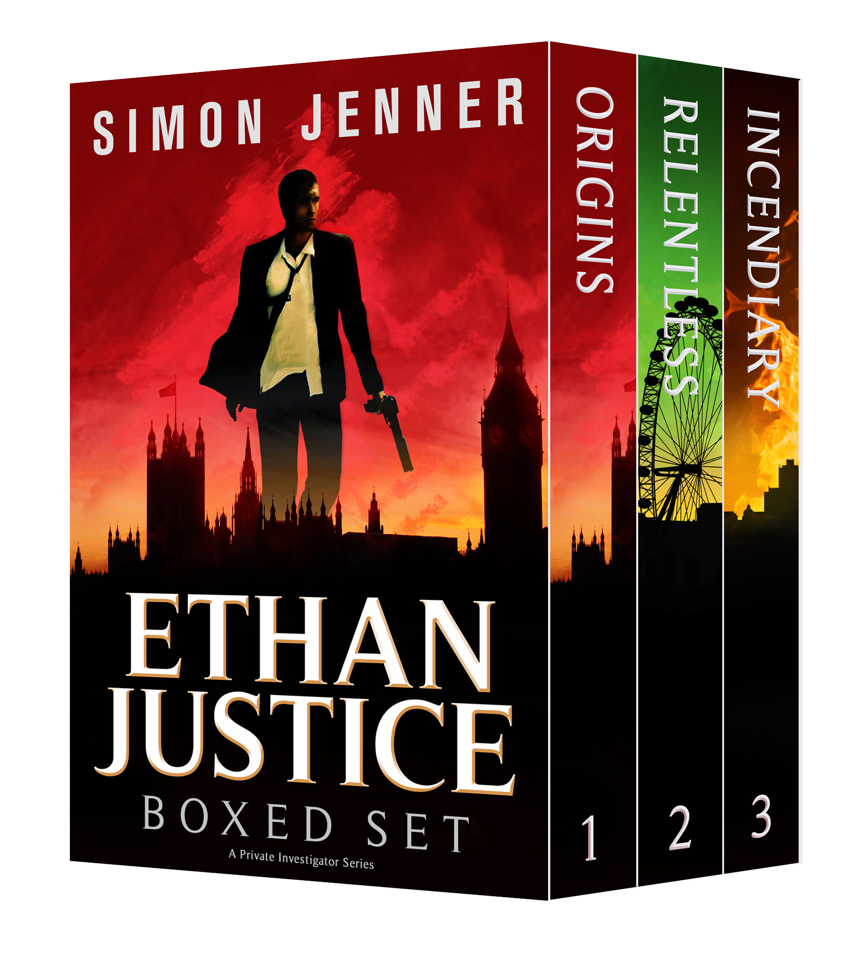 Ethan Justice Boxed Set